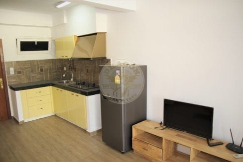 Fully-Furnished Studio Apartment for 300 Dollar a Month. Real Estate Sihanoukville