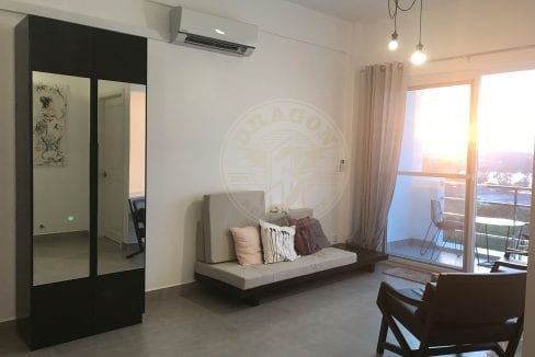 Beautiful Fully Furnished Two Rooms Apartment with Fantastic View. Real Estate Sihanoukville