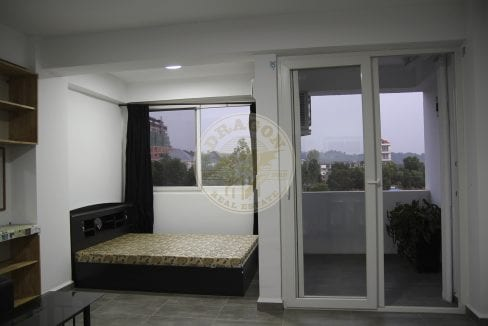 Spectacular Views in Every Direction Studio for Rent. Sihanoukville Monthly Rental