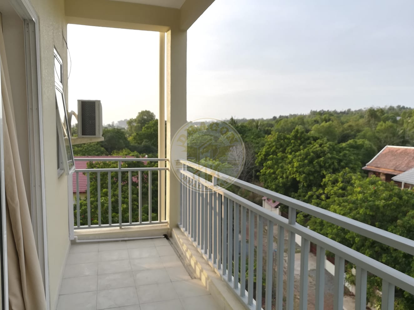 Apartment w/ One balcony for Rent. Sihanoukville Monthly Rental