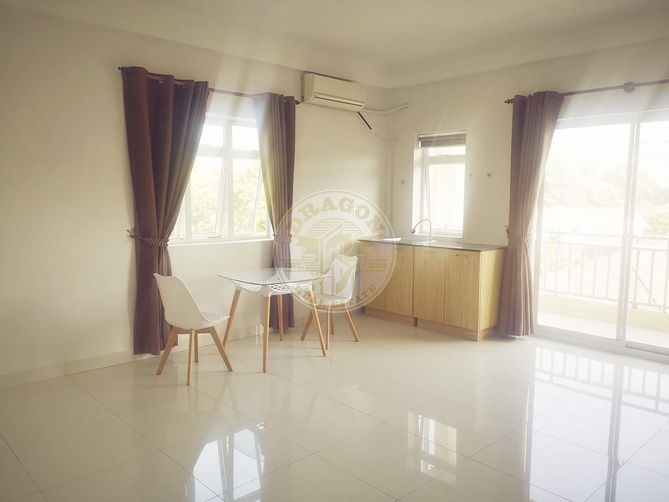 Apartment w/ One balcony for Rent. Sihanoukville Real Estate