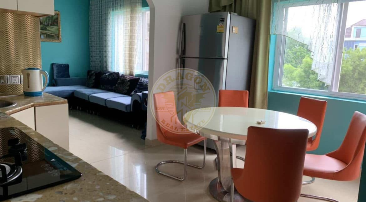 Luxury Apartment with Two bedrooms and Two bathrooms. Real Estate in Sihanoukville