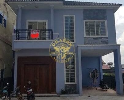 House with 4 rooms For Rent In Cambodia