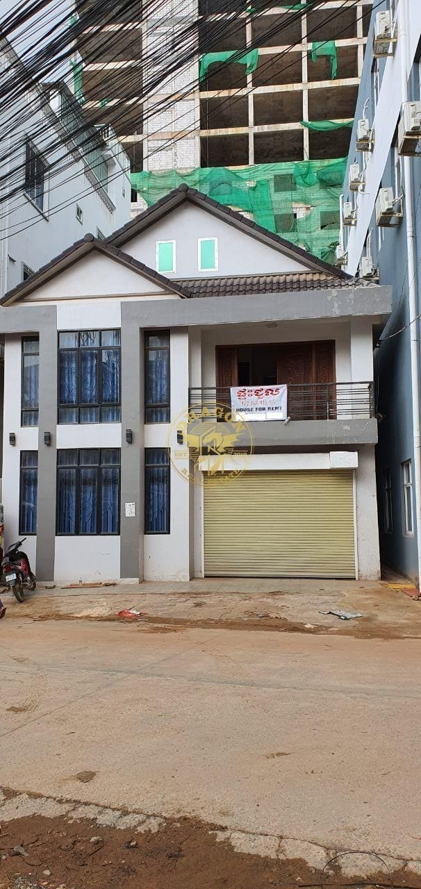 Home For Rent Near Cambodia Commercial Bank